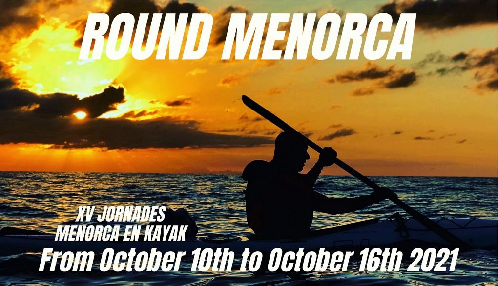 Round Menorca by kayak: 10 to 16 October 2021